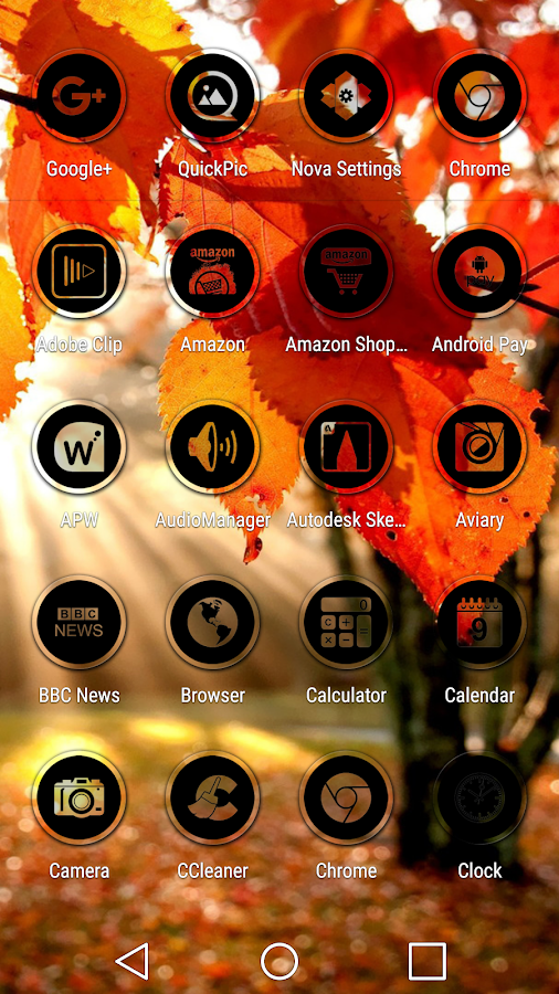 Miller Black - Icon Pack Screenshot 3