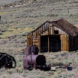 Bodie by Bea Welsh - Buildings & Architecture Decaying & Abandoned ( timber, old, building, desert, empty, old town, abandoned )