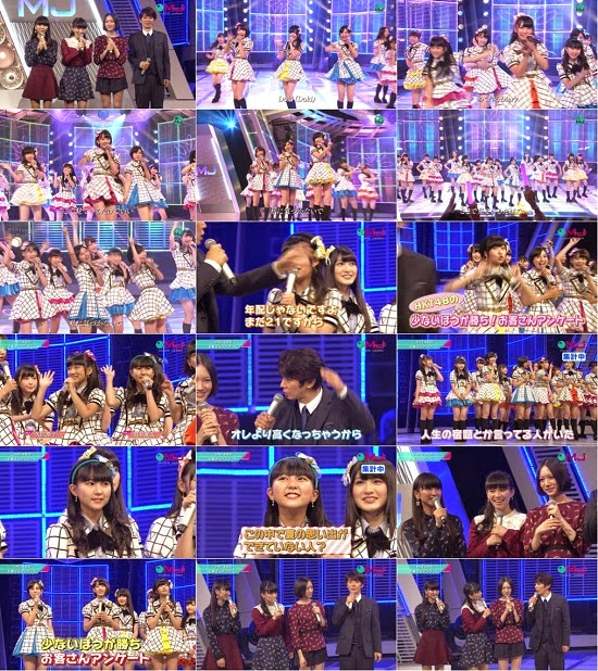 (TV-Music)(1080i) HKT48 Part (Music Japan) 140928