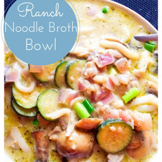 Ranch Noodle Broth Bowl