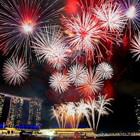 NDP Firework by Alit  Apriyana - City,  Street & Park  Vistas