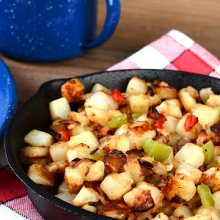 Yummy Potato Vegetable Skillet
