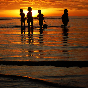 Way Home by Ahmad Irfan - Babies & Children Children Candids