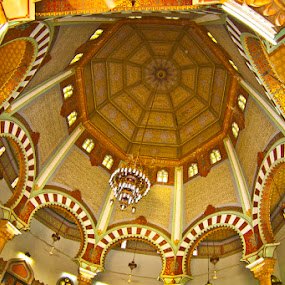 Golden Dome by Basuki Mangkusudharma - Buildings & Architecture Architectural Detail ( dome )