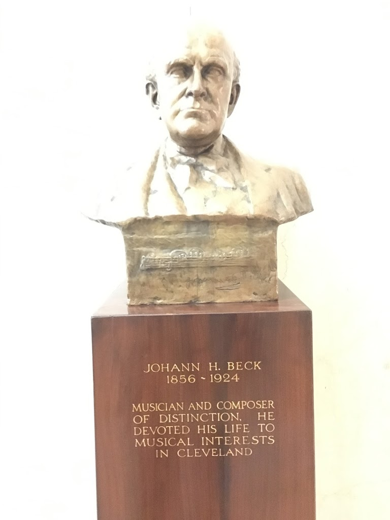 Johann H. Beck 1856 – 1924 Musician and composer distinction, he devoted his life to musical interests in Cleveland.  Submitted by Bryan Arnold @nanowhiskers