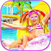 Water Slide Summer Splash - Water Park Fun Game APK for Bluestacks