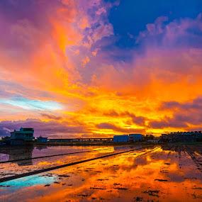 Before sunrise by Jay Chen - Landscapes Sunsets & Sunrises