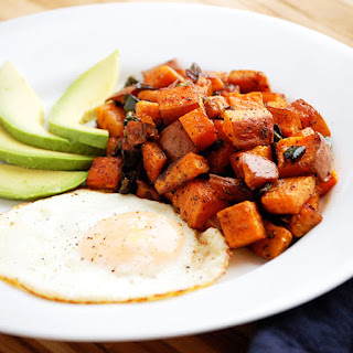 Baked Sweet Potato Home Fries
