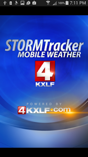 KXLF STORMTracker Weather App - screenshot