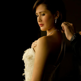 The Necklace by Ron Alayon - Wedding Getting Ready