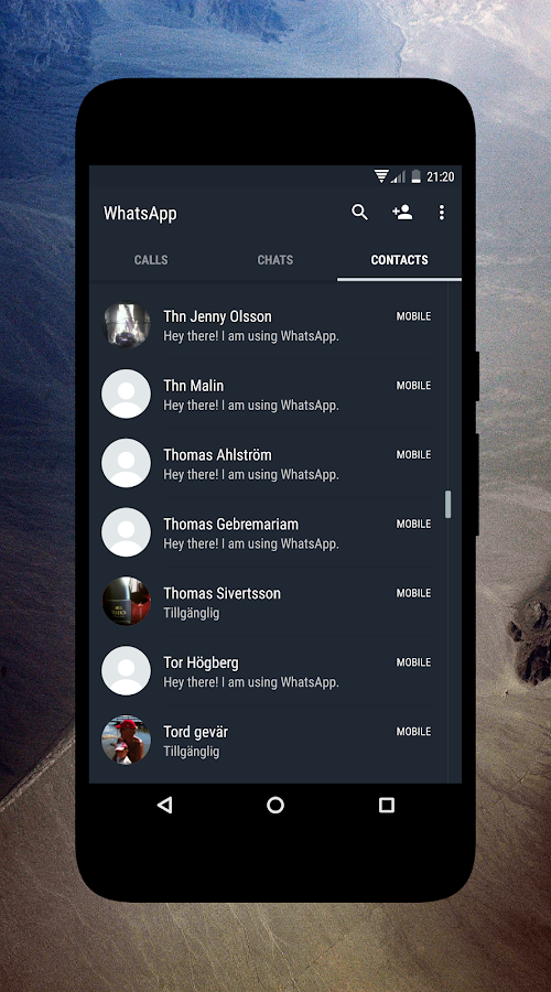 Swift Style CM12 & CM13 Theme Screenshot 4