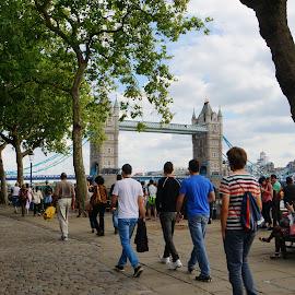 London Bridge by Dee Haun - Buildings & Architecture Bridges & Suspended Structures ( 130814$0290rce1, england, london, london bridge, bridges, buildings & architecture )