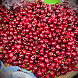 Cherries by Michael Villecco - Food & Drink Fruits & Vegetables