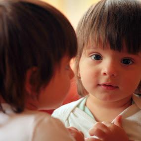 Childhood Reflexion 2 by Alex D.  Veriga - Babies & Children Children Candids