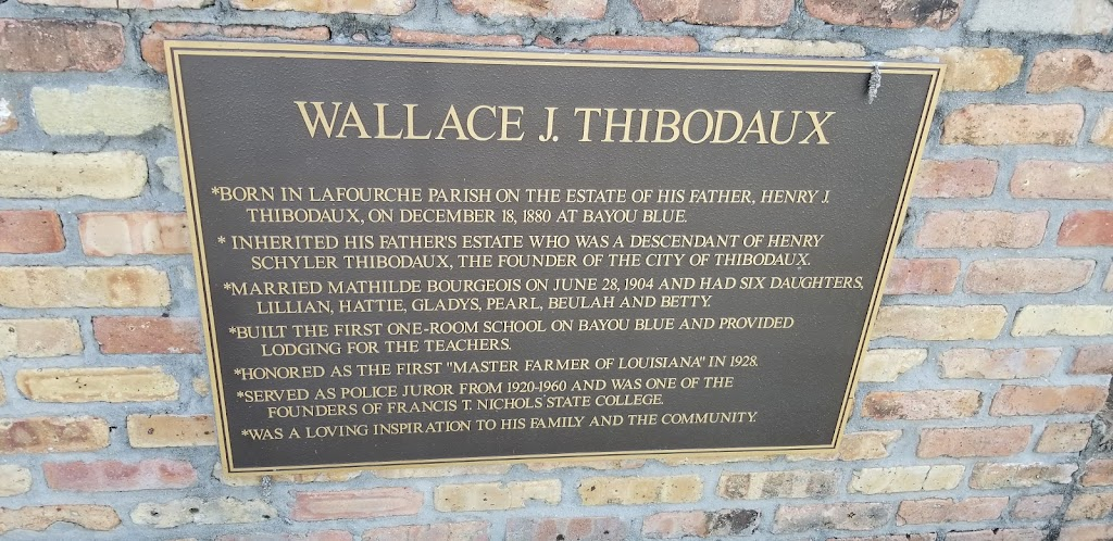 *Born in Lafourche Parish on the estate of his father, Henry J. Thibodaux, on December 18, 1880 at Bayou Blue.*Inherited his father's estate who was a descendant of Henry Schyler Thibodaux, the ...