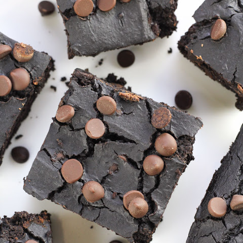 Black Bean Brownies {Healthy, Flourless}