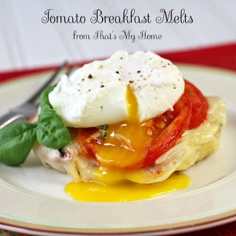 Tomato Breakfast Melts