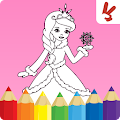 Kids coloring book: Princess APK for Bluestacks
