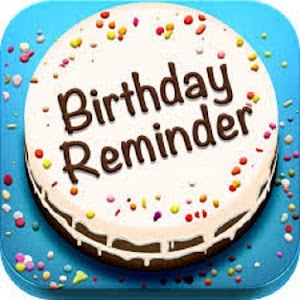 BIRTHDAY REMINDER