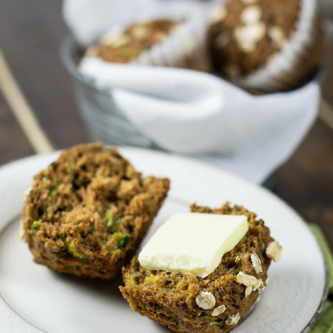 Brown Sugar Zucchini Bread Muffins