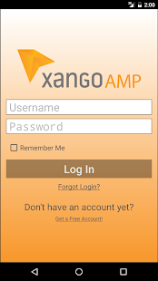 Xango AMP - screenshot