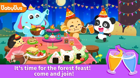 Baby Panda's Forest Feast - Party Fun for pc
