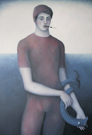 James Mortimer - Man with Fish