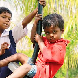 Look at ma attitude by Vijay Balkawade - Babies & Children Children Candids ( child, child portrait, children candids, children, childhood )