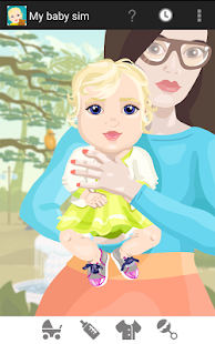 My Baby Sim - childcare game - screenshot