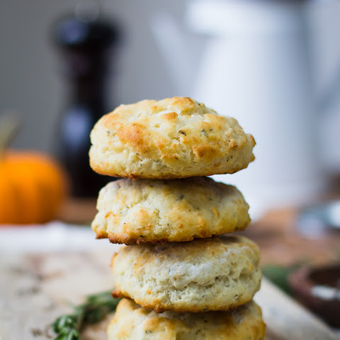 Rosemary Parmesan Buttermilk Biscuits