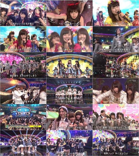 (TV-Music)(1080i) AKB48G 乃木坂46 Part –  テレ東 音楽祭 2015 150624