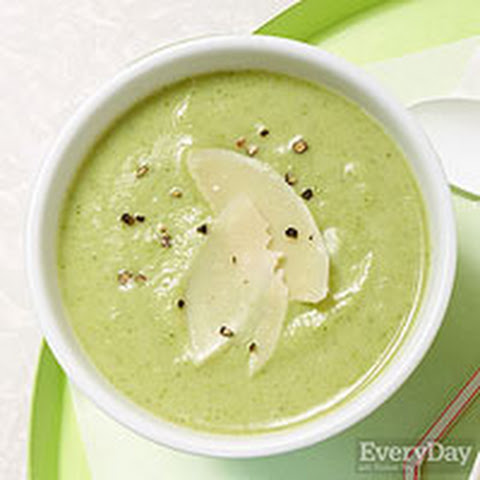 No-Cream Cream of Broccoli Soup