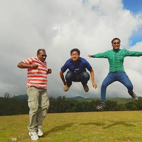 Jumping Jack by Soumaya Karmakar - Public Holidays Christmas ( joyful,  )