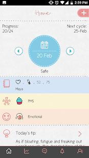 Maya - Period, Fertility, Ovulation & Pregnancy APK for Kindle Fire