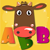 Learning letters is fun! Russian alphabet for kids