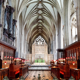 Bristol Cathedral by Zsuzsanna Abonyi - Buildings & Architecture Places of Worship