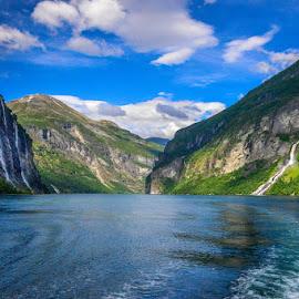 Geirangerfjord by Joško Šimic - Landscapes Mountains & Hills ( norvege )