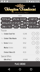 Huyton Tandoori Liverpool - screenshot