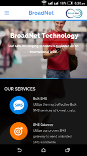 Broadnet Technologies - screenshot