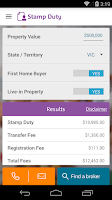 Screenshot of Mortgage Choice Loan Helper