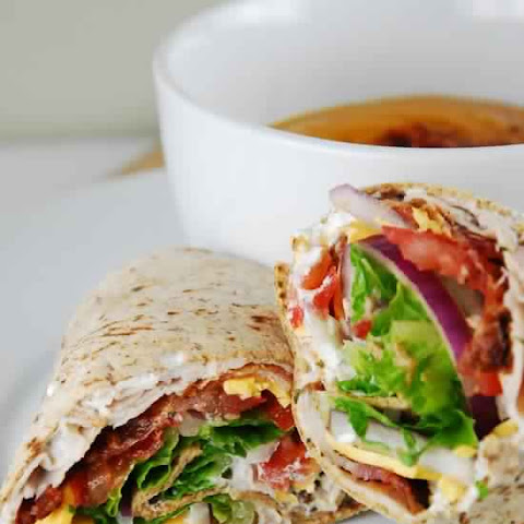 Bacon Ranch Turkey Wrap Recipe – 7 Smartpoints