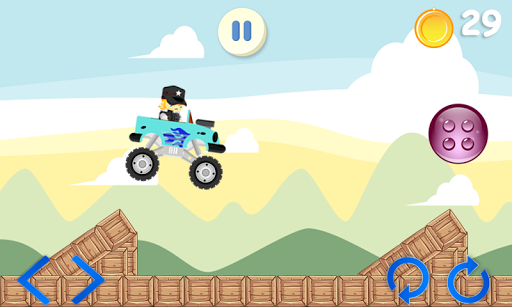 Monster Truck Climb RoRush - screenshot