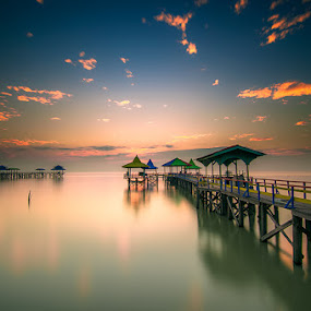one fine morning by Andy R Effendi - Landscapes Waterscapes