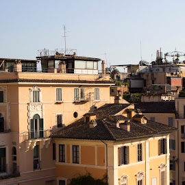 Rome above by Alin Gavriluta - City,  Street & Park  Neighborhoods