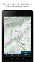 Screenshot of Genius Maps: Offline GPS Nav