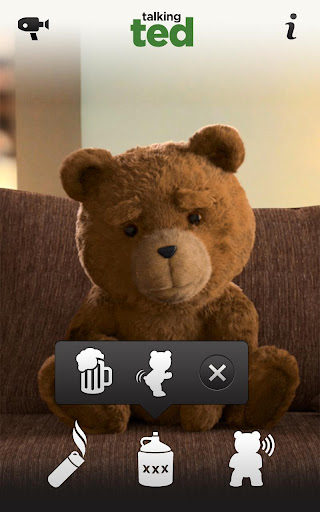 Talking Ted LITE screenshot 2