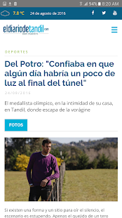 El Diario de Tandil - screenshot