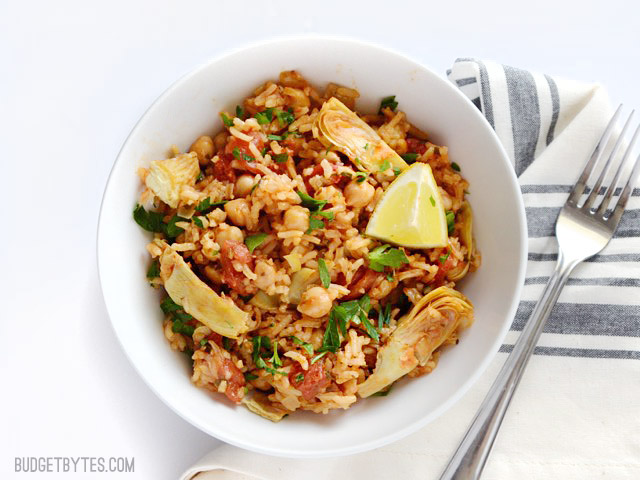 Spanish Chickpeas and Rice Recipe | Yummly