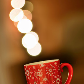 Christmas Joy! by Ro Ducay - Public Holidays Christmas ( mug, lights, pwcholidays, cup of tea, drink, cup of coffee )