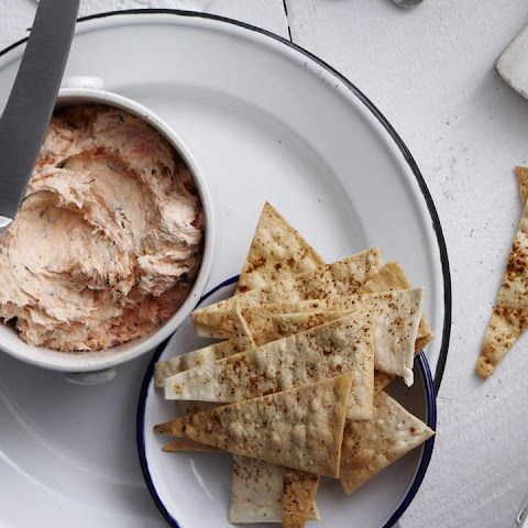 Smoked Trout Pâté with Spicy Crisps